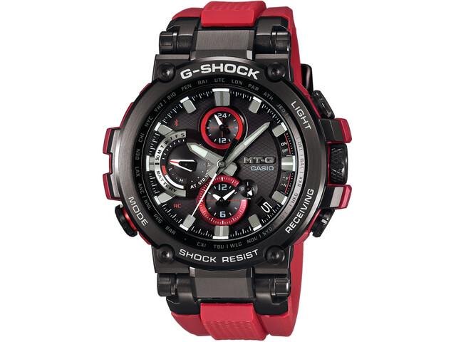 CASIO G-SHOCK MTG-B1000B-1A4ER Zegarek Mężczyźni, red/black/black